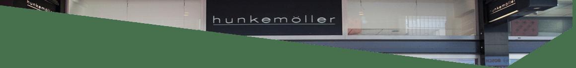 Gevel Hunkemoller op de Luifelbaan in Leiden