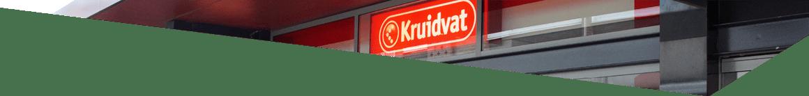 Gevel Kruidvat op de Luifelbaan in Leiden