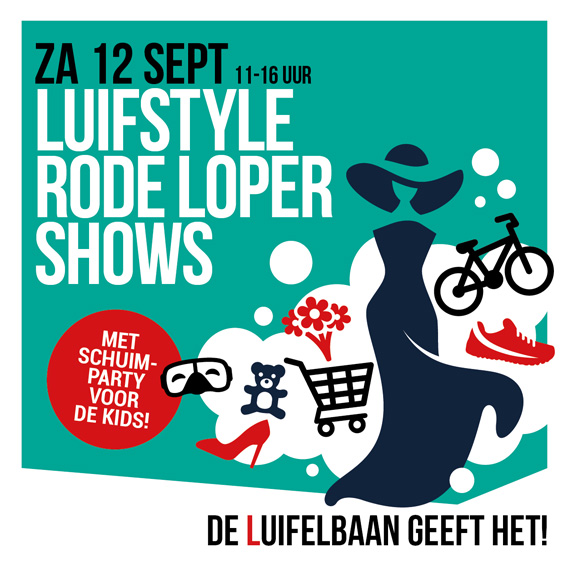 luifstyle rode loper shows